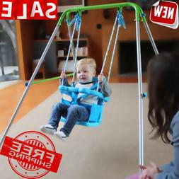 swing toddler set seat bucket play outdoor