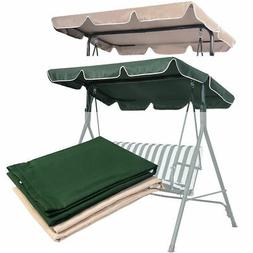 "Swing Top Cover Canopy Replacement Porch Patio Outdoor 66""x4"