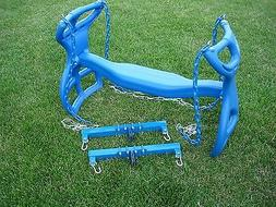 Swingset back to back glider swing, play set double glider,