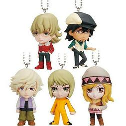 Tiger & Bunny Real Face Swing SET of 5 Kotetsu Barnaby 1.5""