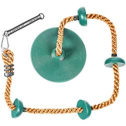 Tree Climbing Rope and Kids Swing: Climbing Rope for Kids wi