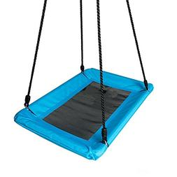 Play Platoon Outdoor Tree Swing for Kids & Adults - Rectangl