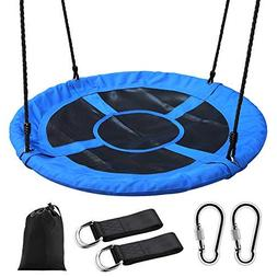 "Tree Swing,Swing for Kids,40"" Large Round Outdoor Saucer Swi"