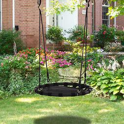 HOMCOM Tree Swing Hanging Hammock Chair Attaches to Tree or