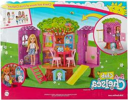 Barbie Treehouse Fashion Doll Playset