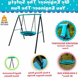 Jump Power UFO Swing Set- for 1 or 2-Kids/Toddlers READ DISC