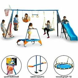 FITNESS REALITY KIDS 'The Ultimate' 8 Station Sports Ser