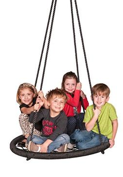 M & M Sales Enterprises Web Riderz Outdoor Swing N' Spin- Sa