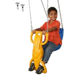 Swing-N-Slide WS 8340 Wind Rider Swing Single Child Glider S